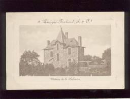 35 Martigné Ferchaud Chateau De La Hélinière édit. Baudard N° 9  , Rare - Otros Municipios