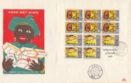 FDC Blok 854 - Dagtekenstempel Zwolle 16 November 1965 - NVPH 854 - FDC