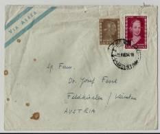 =Argentina  1954brief  Nach Austria - Luftpost