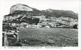 N°24409 -cpsm Gibraltar -passenger's LandinfgPier- - Gibraltar