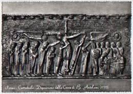 Parma - Santino Cartolina Fustellata DEPOSIZIONE DELLA CROCE (B. Antelami), Cattedrale - PERFETTO E56 - Religion & Esotericism