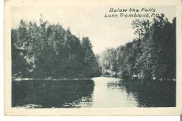 En Bas Des Chutes, Lac Tremblant, Quebec Below The Falls, Lake Tremblant, Quebec - Quebec
