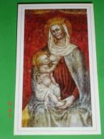 """Madonna Delle GRAZIE """" Latte / Allatta"""" - Abbazia Di CHIARAVALLE Della Colomba - ALSENO,Piacenza - Santino - Images Religieuses"""