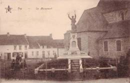 ORP - Le Monument - Carte Circulée 1936 - Orp-Jauche