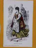 Pub Ancienne  - Costume - Mode - Pharmacie- Médicament - Alphamide - Pubblicitari