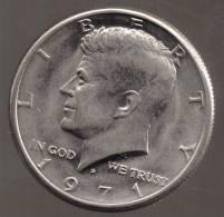 USA 1/2  DOLLAR 1971 D  KENNEDY - Federal Issues