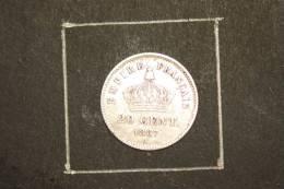 Monnaie, France, 20 Centimes Napoleon III 1867 A  Argent - E. 20 Centimes