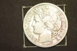 Monnaie, France, 2 Francs Ceres Sans Legende 1871 K  Argent - I. 2 Francs