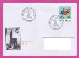 CHRISTKINDELSMÄRIK MARCHÉ DE NOËL Bienvenue à L´union Européenne 67 Strasbourg 2000 - Marcophilie (Lettres)