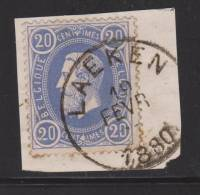 31  - EC / SC. LAEKEN  - Op Fragment.  1880 - 1869-1883 Léopold II