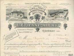 2306  -  GARDGENERAC 1937 -  VINS DE TABLE - Altri