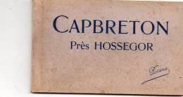 40 Capbreton Pres Hossegor Carnet De 11 CPA De Capbreton - Capbreton