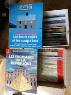 """LOT DE 107 NR """" LES DOSSIERS DU CANARD ENCHAÎNÉ """" AVRIL 1981 A DÉCEMBRE 2009 - Humor"""