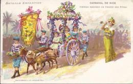 4876 - Bataille Enfantine Carnaval De Nice Edition Spéciale Du Comité Des Fêtes - Carnaval