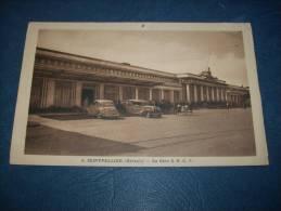 Montpellier - La Gare S.N.C.F. - Animée -automobiles - Photo Verhasselt 5 - L102A - Montpellier