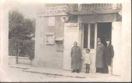 Andelot En Montagne Carte-photo Bureau Poste Télégraphe Animée - France