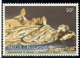 BELGIQUE - Année 1981 - Mausolées à Bruges - N° 2019 ** TTB - Ongebruikt