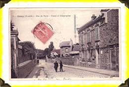 CP N°9   ´ORSAY  -  La Poste     ..  91 ESSONNE - Orsay