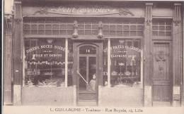 """¤¤  -   LILLE   -  Magasin """" Petit Tavernier """"  -  Traiteur L. Guillaume 14 Rue Royale   -  ¤¤ - Lille"""