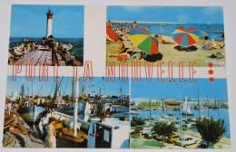 PORT LA NOUVELLE - 11 - Multivues : LE PHARE; LA PLAGE; LE PORT. N°14935. - Port La Nouvelle