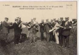Macon     Fêtes D'aviation     Les Chanteurs Des Rues - Macon