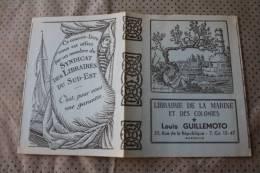 Librairie De La Marine Des Colonies—>Couvre-livre Protect Notebook Proteggere I Notebook Zu Schützen Publicité Syndicat - Protège-cahiers