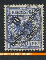 1896, MiNr. 9 Gest - Kolonie: Duits Oost-Afrika