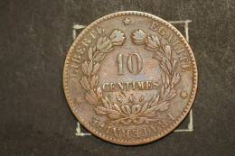 Monnaie, France, 10 Centimes Ceres 1882 A - France