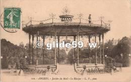 ANGERS - Jardin Du Mail - Le Kiosque (animée) - N° 102 - Angers