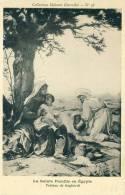 La Sainte Famille En Egypte  Tableau De Gagliardi   Cpa - Non Classés