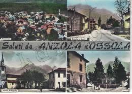 Verbania - Anzola D´Ossola - Panorama, Entrata Nel Paese, Piazza Principale, Scorcio - Verbania