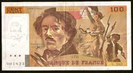 DELACROIX - 100F 1994 - G.263 - 1962-1997 ''Francs''