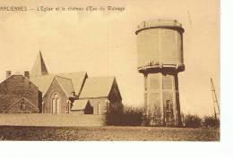 Farciennes  Eglise Et Le Château Du Wainage - Farciennes