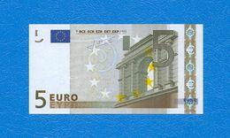5  EURO - ALEMAGNE -  Serie   X 15541802471 - Codice Breve  R 001 C 5  -  Firma  TRICHET - EURO