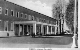 """Bellissima Cartolina  D´epoca  """"  Caserta -  Stazione Ferroviaria  """" - Caserta"""
