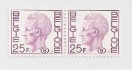 - 632 A - Dienstzegel Nr 75 ( 2 X ) - Service