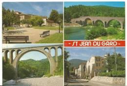Gard :  SAINT  JEAN  Du  GARD  :   Vues  1989 - Saint-Jean-du-Gard