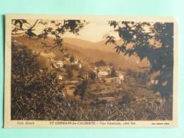 ST GERMAIN DE CALBERTE - Vue Générale, Coté Est - France