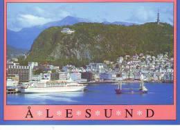 Dampfer Alesund Norway - Dampfer