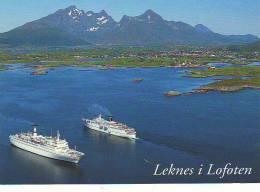 Leknes I Lofoten - Dampfer