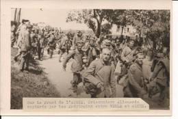 Vesle Aisne Soissons Braine Prisonniers Allemands Us Army 1914-1918 14-18 1.wk Ww1 WWI Poilus - War, Military