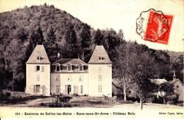 39. Jura . Nans Sous Sainte Anne . Le Chateau Bolu  . - Otros Municipios