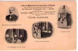 Paris..multi-vues..Oeuvre Maternelle Des Couveuses D'Enfants..salle D'Allaitement..santé - Health, Hospitals