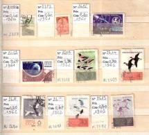 Timbre Russie Lot N° 5. Obl. 1961 à 1962. + 1960 Cote 3.50 € - 1923-1991 URSS