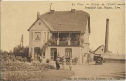 La Pinte - Entrée De L'Etablissement Horticole Van Houtte. - De Pinte
