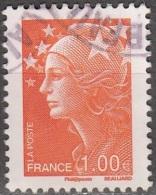 France 2008 Yvert 4235 O Cote (2012) 0.50 Euro Marianne De Beaujard Cachet Rond - France