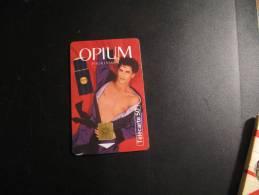 Telecarte 50 Unites Parfum Opium Pour Homme - Parfum