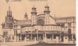 Br35085  Ostende Le Kursaal Cote De La Ville  2 Scans - Oostende