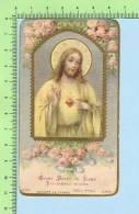 DSR-2355   Goldprint ( Coeur Sacré De Jésus J´ai... 300 Jours D´indul.. ) Image Pieuse  Holycard Santini - Santini