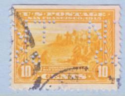 U.S. 400    Perf 12  PERFIN   (o) - United States